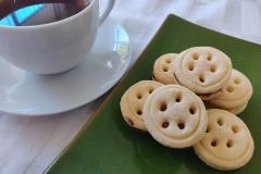 Nutella Button Biscuits