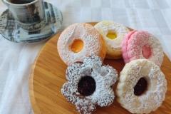 Rainbow Biscuits